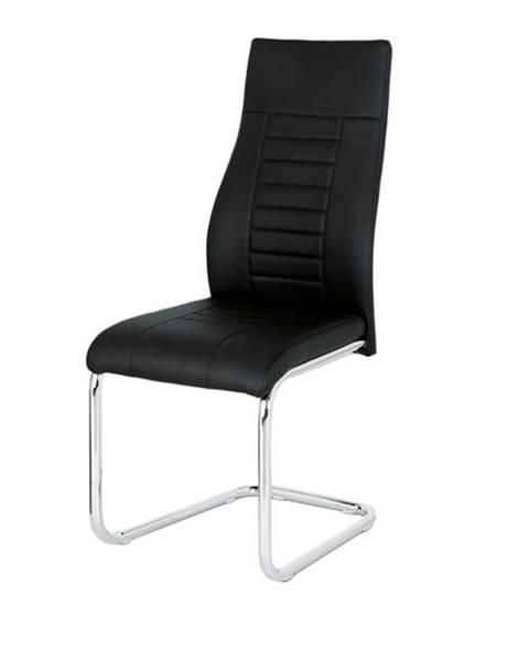 Sconto Jedálenská stolička ADRIENA čierna
