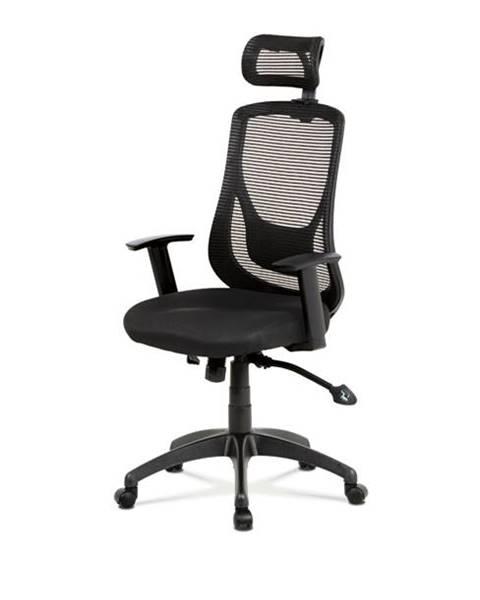 Sconto Kancelárska stolička GEORGE čierna