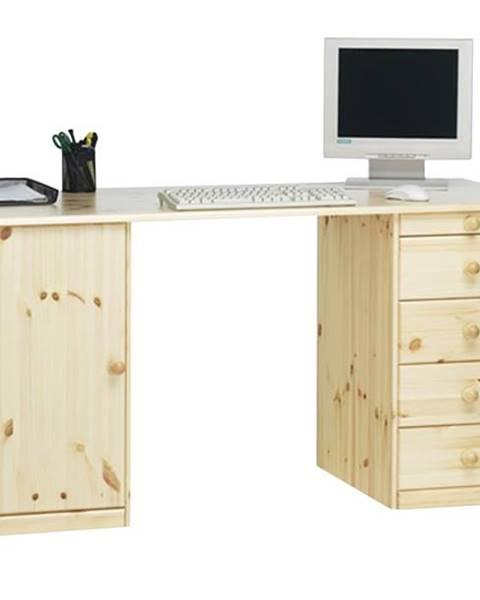 Sconto Písací stôl KENT 270/19 borovica