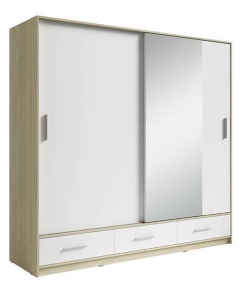 Sconto Šatníková skriňa SAFI šírka 180 cm