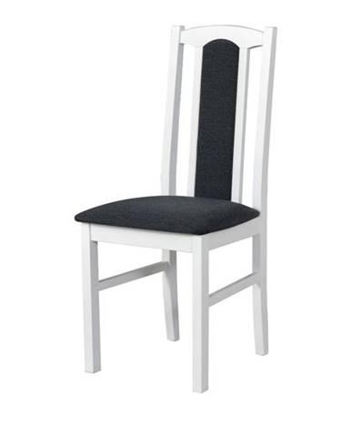 Jedálenská stolička BOLS 7 tmavosivá/biela