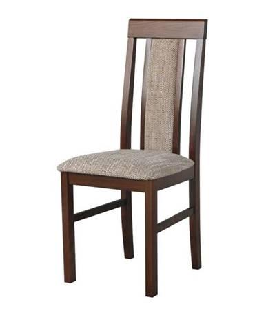 Jedálenská stolička NILA 2 hnedá