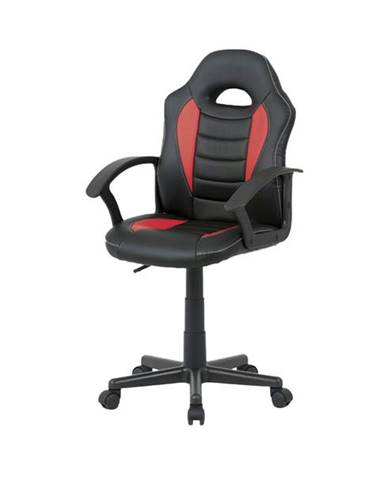 Kancelárska stolička FRODO červená/čierna