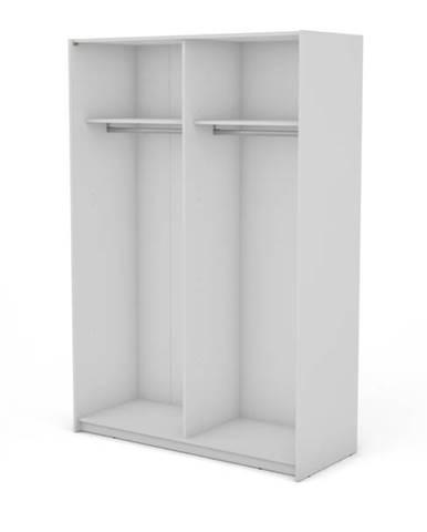 Korpus skrine BOSTON 150 biela, šírka 150 cm