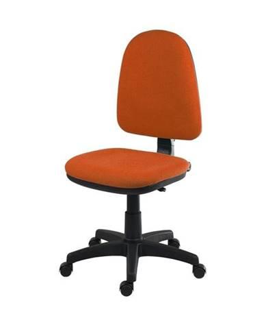 Otočná stolička ELKE oranžová