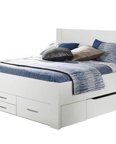 Posteľ ISOTTA SON biela, 180x200 cm