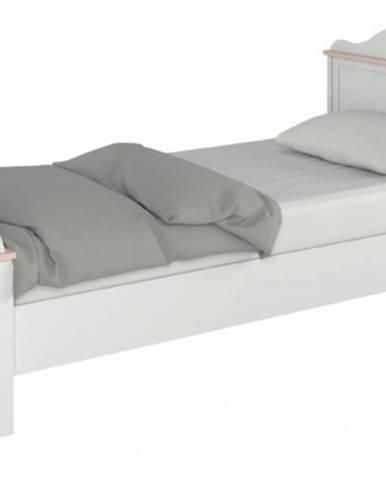 Posteľ LUNA 08 biela, 90x200 cm