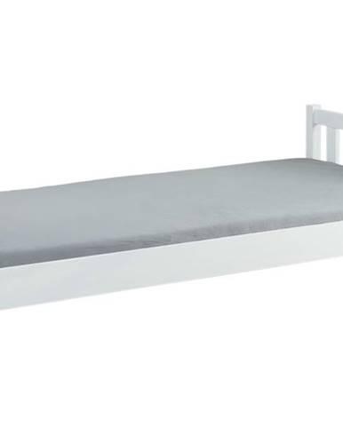 Posteľ MALLI biela, 90x200 cm