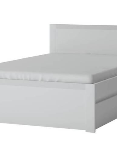 Posteľ NOVI biela, 120x200 cm