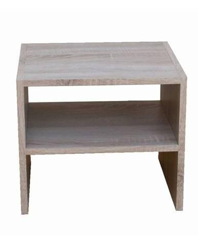 Prístavný stolík JULIA dub sonoma