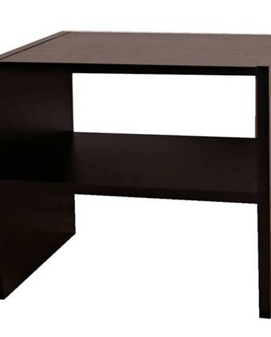 Prístavný stolík JULIA čierna