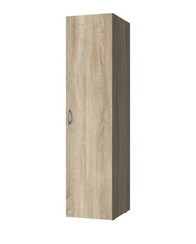 Viacúčelová skriňa MULTIRAUMKONZEPT 641, dub sägerau, 50 cm