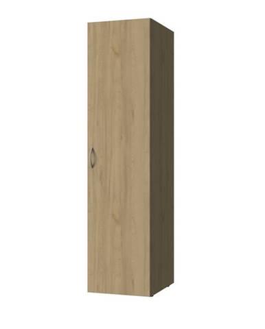 Viacúčelová skriňa MULTIRAUMKONZEPT 641, buk, 50 cm