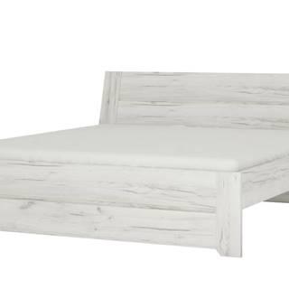 Posteľ ANGEL 91 dub craft biely, 180x200 cm