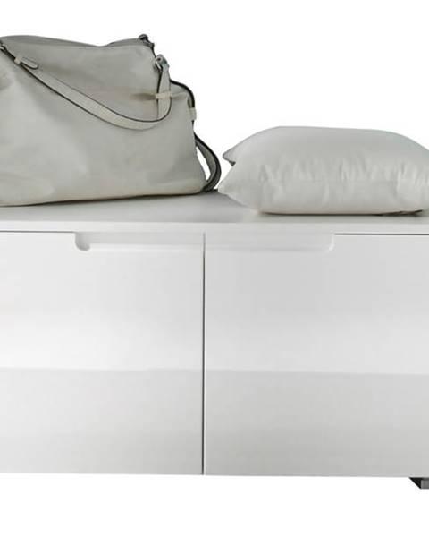 Sconto Lavica/skrinka na topánky SPICE biela