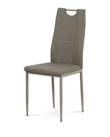 Jedálenská stolička AMINA cappuccino