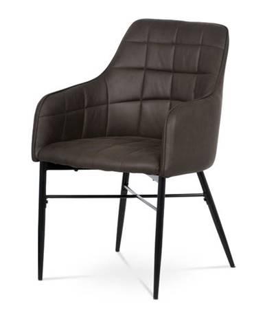 Jedálenská stolička DAMIRA hnedá