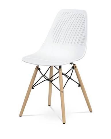 Jedálenská stolička ELODY biela