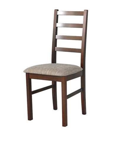 Jedálenská stolička NILA 8 hnedá