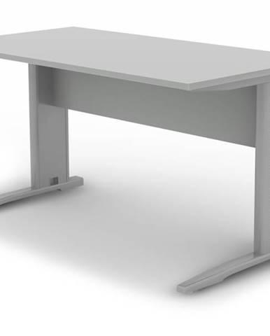 Písací stôl RIO 227 sivá