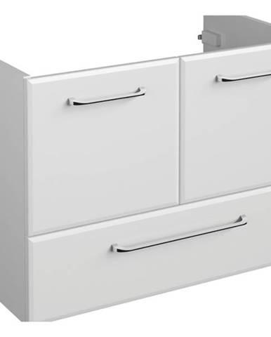 Umývadlová skrinka FILO biela vysoký lesk