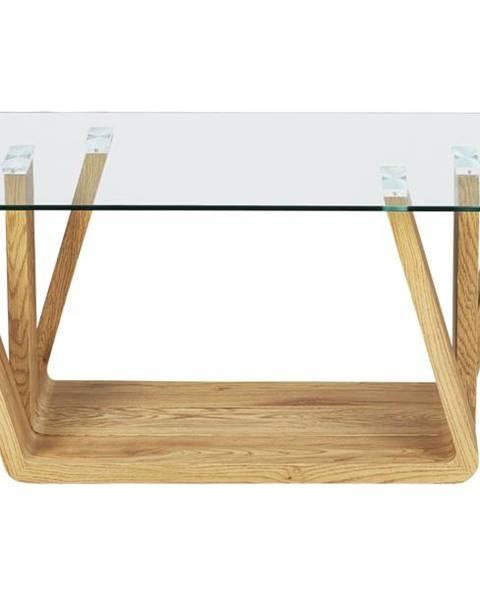 Sconto Konferenčný stolík ANTIA dub/sklo