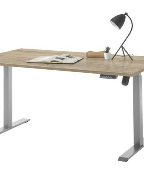 Sconto Písací stôl PROTON dub sonoma