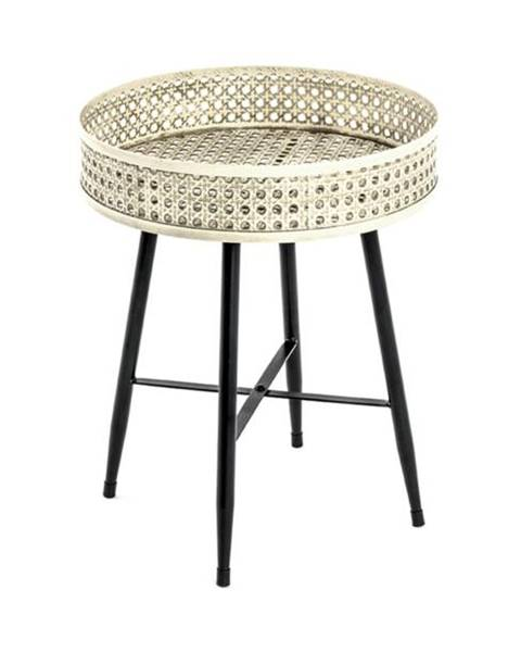 Sconto Prístavný stolík TABAGO ø 38 cm