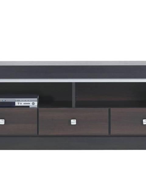 Sconto TV stolík MALLORCA FR2 orech tmavý/dub milano