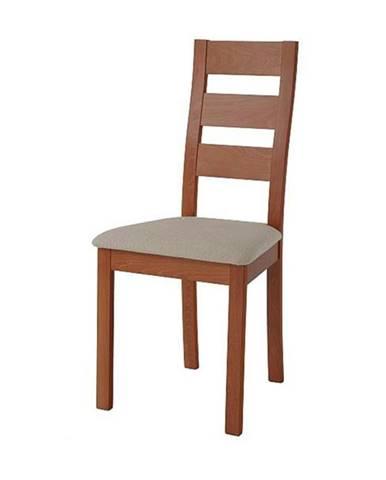 Jedálenská stolička DIANA čerešňa/svetlohnedá