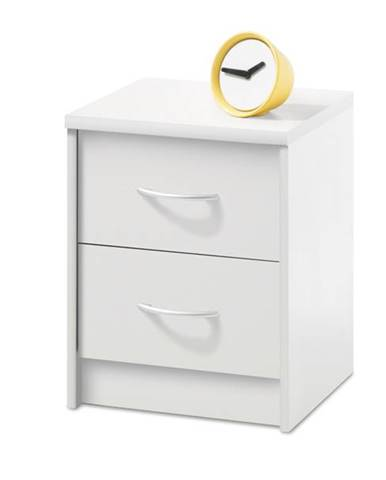 Nočný stolík OPTIMUS 38-009 biela