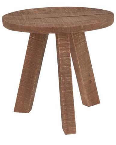 Stolík J11300990 teakové drevo