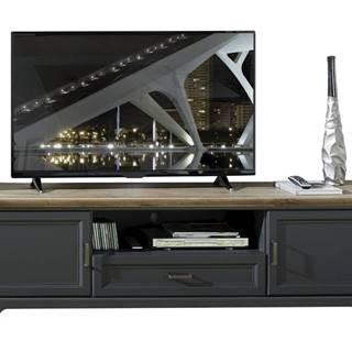 TV stolík JASMIN grafit/dub artisan