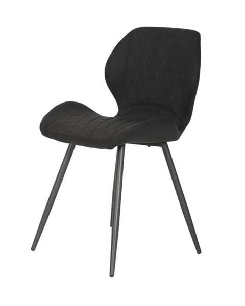 Sconto Jedálenská stolička AURORA S vintage antracit