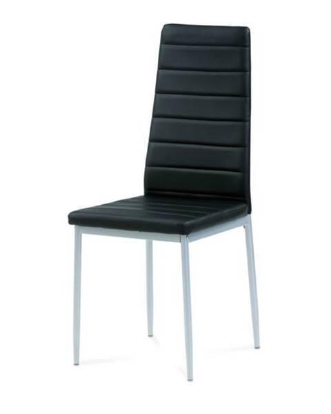 Sconto Jedálenská stolička FATIMA čierna