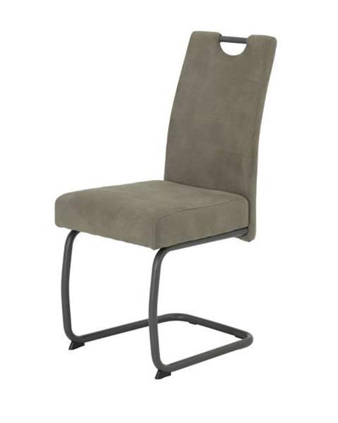 Sconto Jedálenská stolička FLORA VI S sivá
