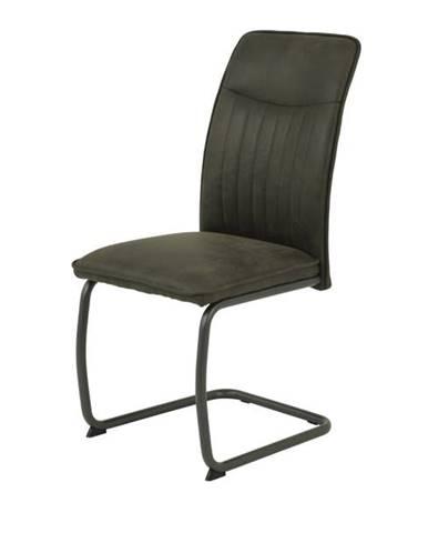 Jedálenská stolička RUBINA II S sivá