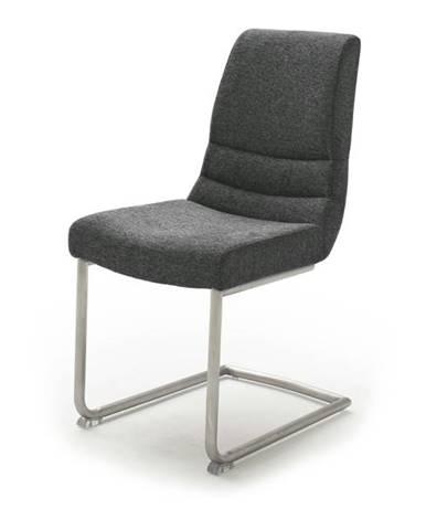 Jedálenská stolička SADIE 2 antracitová