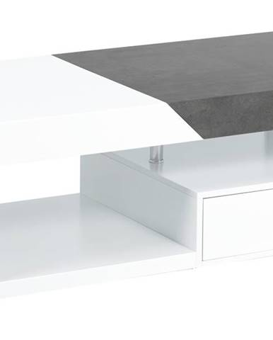 Konferenčný stolík TARAGONA biela