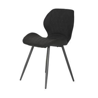 Jedálenská stolička AURORA S vintage antracit