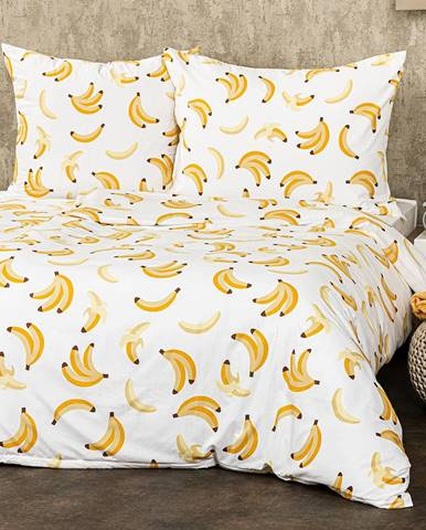 4Home Obliečky Banány micro, 140 x 220 cm, 70 x 90 cm