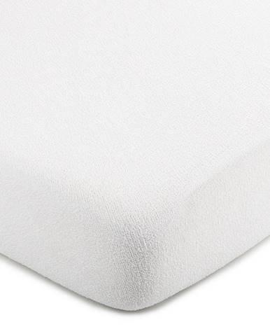 4Home froté prestieradlo biela, 140 x 200 cm