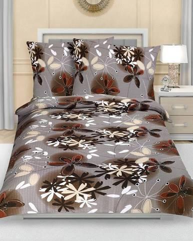 Bellatex Krepové obliečky Kvety letné, 140 x 200 cm, 70 x 90 cm